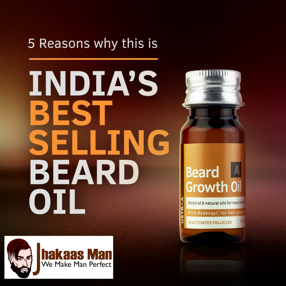 Read more about the article 40% More Beard Growth Oil on Jhakaas Man